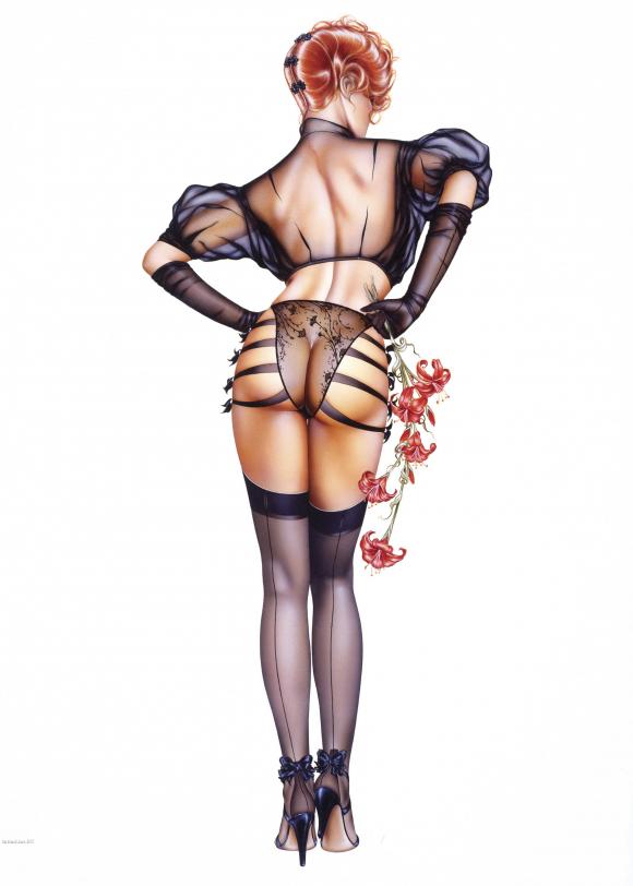 нарисовать секса для чем костюм