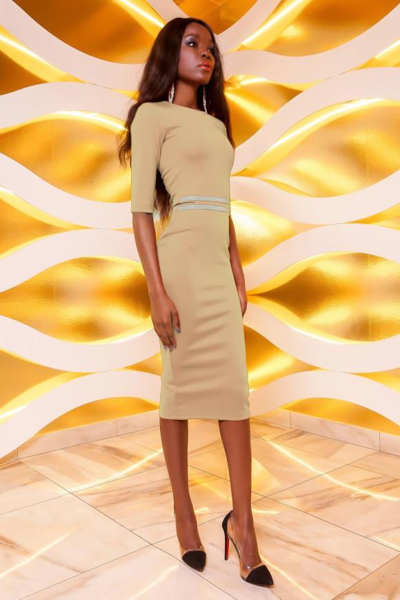 7b71572eba45165 Платье из стрейчевой ткани Jadone Fashion Богемия купить в Киеве ...
