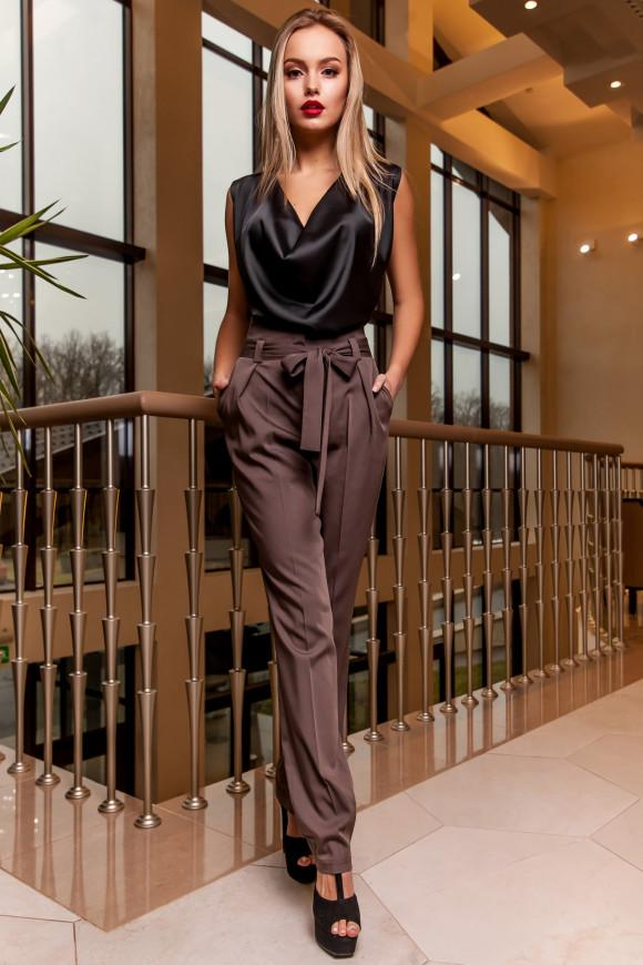 787bc46674ea Женские брюки офисном стиле Jadone Fashion Норис купить в Киеве   Modax.ua
