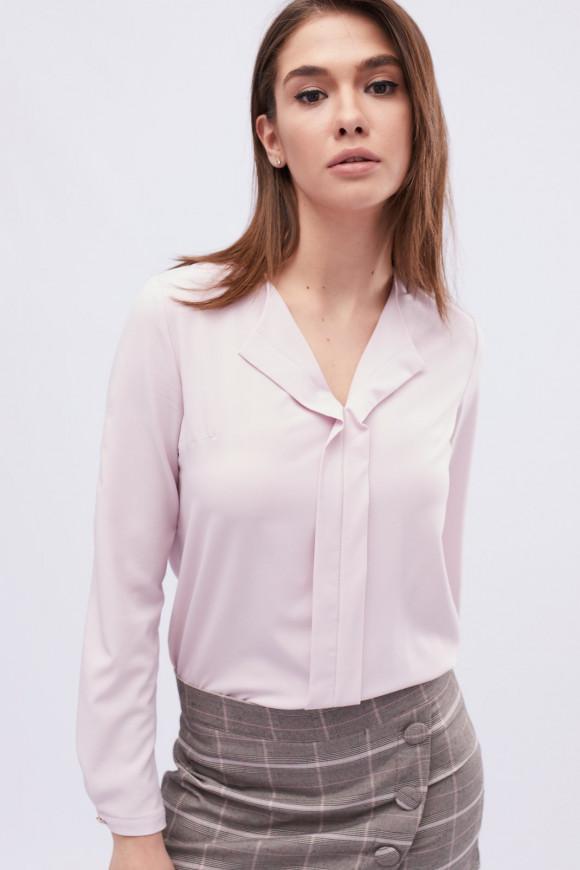 83a6549576c Красивая блуза в офисном стиле Carica BK-7648 купить в Киеве