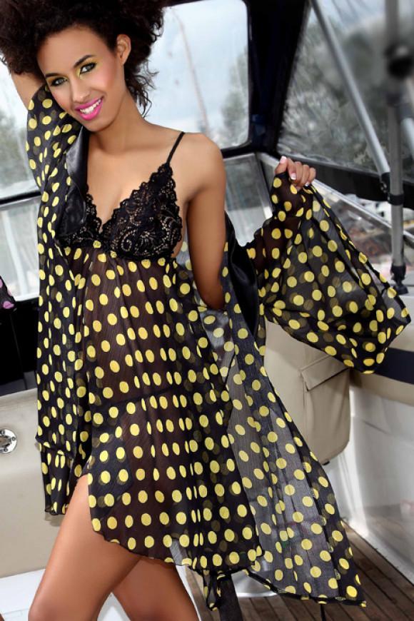 черно-желтый