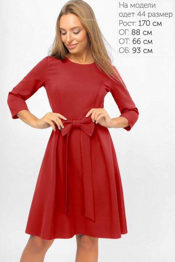 c48d7361493 Повседневное платье с бантом LiPar 3300 купить в Киеве