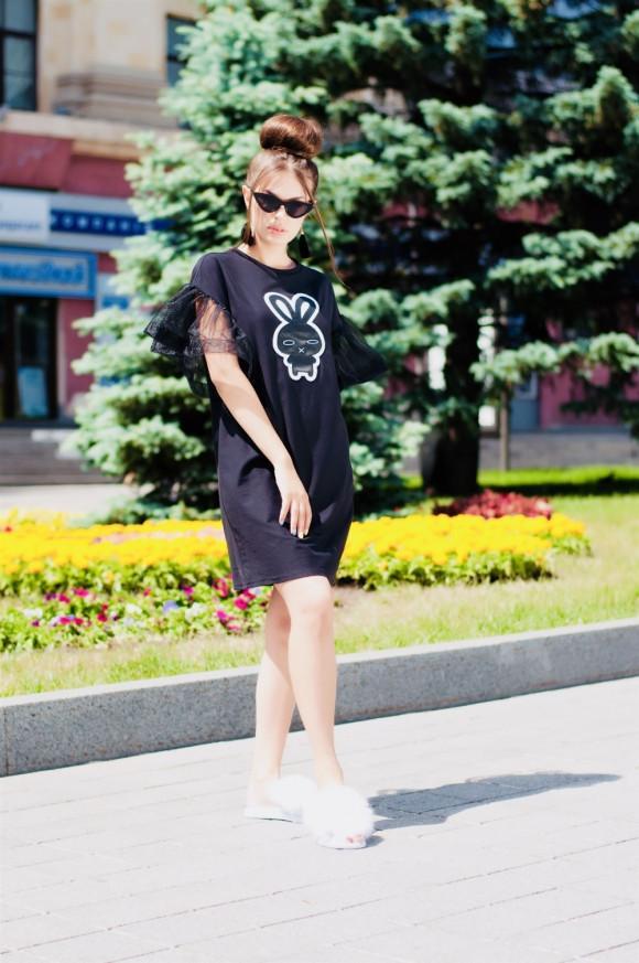 98b0a9a561dc Платье-футболка