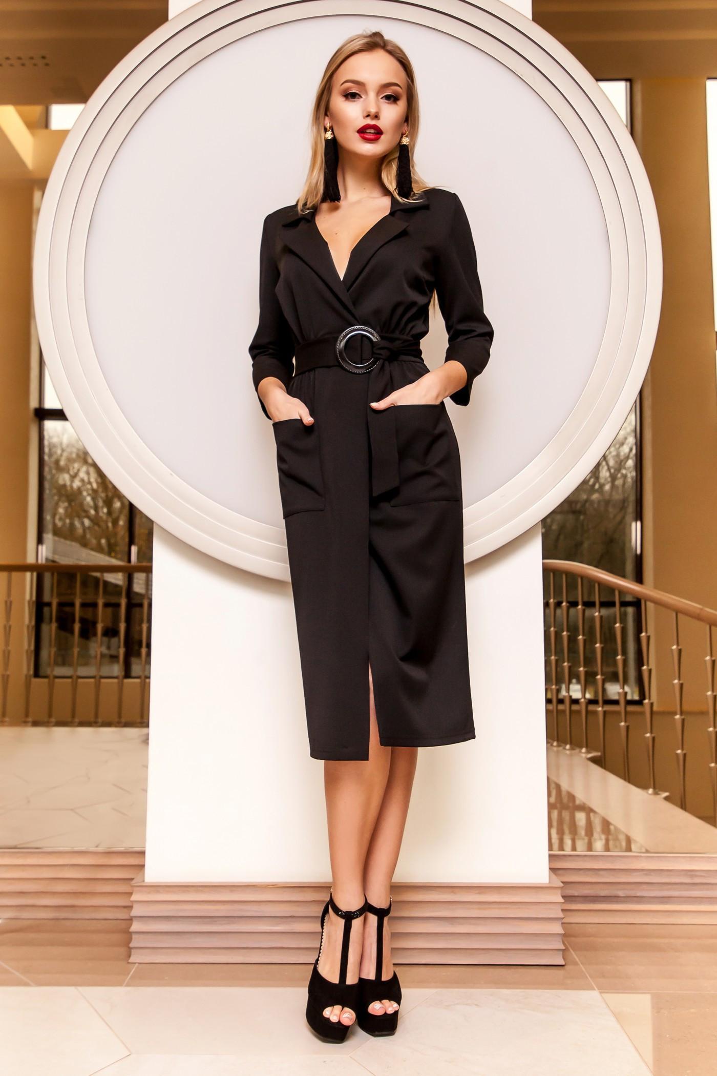 3ee443c9daa8484 Классическое платье в запах Jadone Fashion Кейси купить в Киеве ...