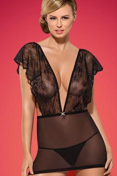 Эротический комплект Obsessive Merossa chemise