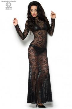 Виниловый комплект с гипюровым платьем ChiliRose CR-4049