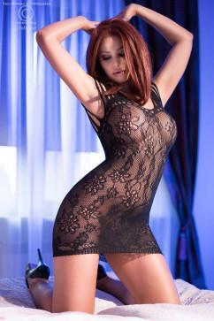 Эротическое платье ChiliRose CR-4095