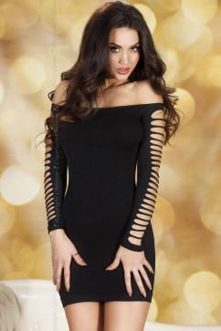 Бесшовное платье с сексуальными рукавами ChiliRose CR-3608