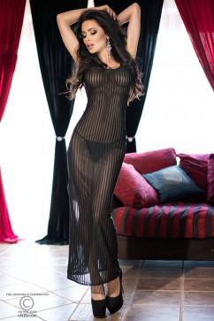 Стройнящее сексуальное платье в пол ChiliRose CR-4137