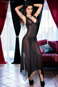 Воздушное сексуальное платье с неровным низом ChiliRose CR-4146