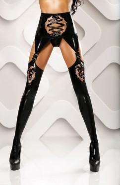 Эротические чулки с интригующим поясом Lolitta Horny stockings