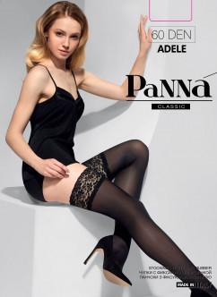 Чулочки с красивым кружевом Panna Adele 60 den