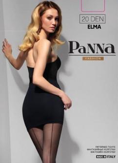 Колготки с полоской сзади Panna Elma 20 den