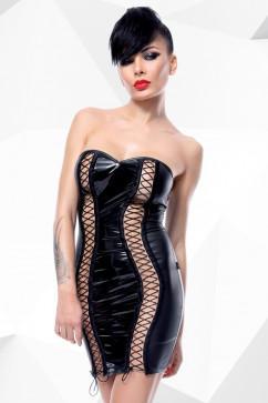 Провокационное лаковое платье Demoniq Astrid