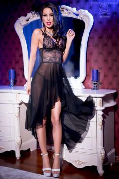 Соблазнительное платье в стиле беби-дол ChiliRose CR-4162