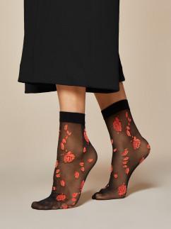 Носочки с розочкой Fiore Ciambelle 20 den