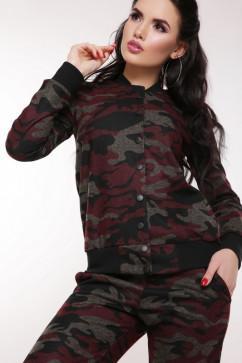 Женский спортивный костюм FashionUp SK-1605 Militaire