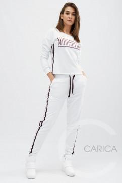 Спортивный костюм с лампасами Carica KM-2079