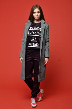Классическое пальто TessDress Классик 3028