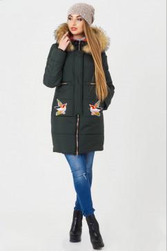 Куртка женская с узором Dono Bird