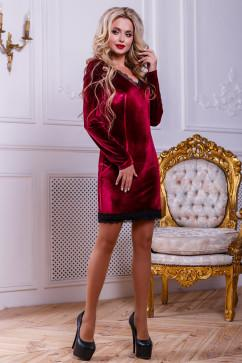 Платье с V-образным вырезом Seventeen 2442