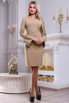 Красивое платье с рукавами фонарик Seventeen 2461