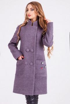Теплое женское пальто Leo Pride Будапешт зима