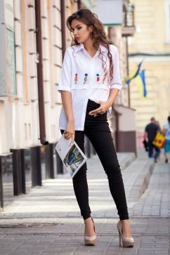 Молодежная блузка Daminika 21711