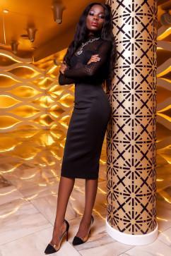 Юбка-карандаш Jadone Fashion Торри