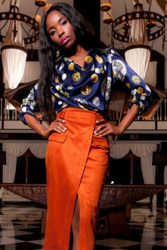 Блузка Jadone Fashion Сальвини