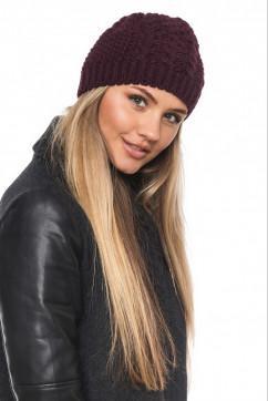 Женская вязанная шапка 0101 Brand арт. 23