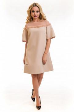Свободное платье The First Land of Fashion Белла