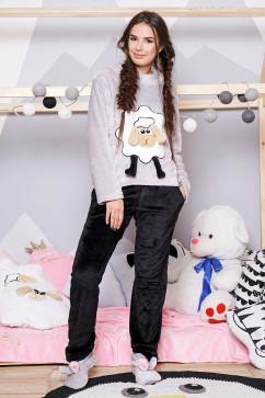 Пижама с аппликацией овечки Daminika 81709