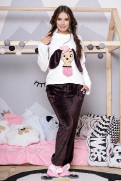 Пижама с собачкой Daminika 81710