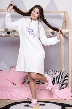 Махровая пижама - платье Daminika 81712