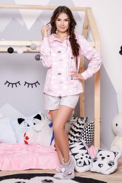 Хлопковая женская пижама Daminika 81702