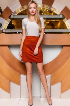 Стильная блуза прямого силуэта Jadone Fashion Белис