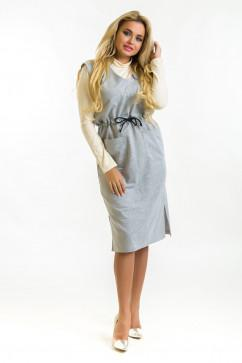 Удобное платье с карманами The First Land of Fashion Тофи