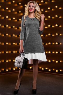 Платье расширенное к низу Seventeen 2524