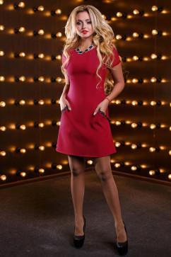Стильное женское платье Seventeen 2516