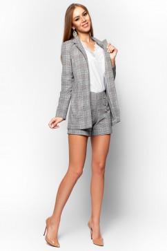 Женский пиджак в клетку Jadone Fashion Сарис
