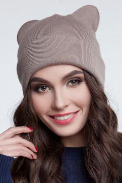 Зимняя шапка с ушками Sewel BW310
