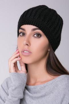 Модная шапка с крупной вязкой Sewel BW456