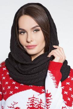 Вязанный шарф-хомут Sewel AW312