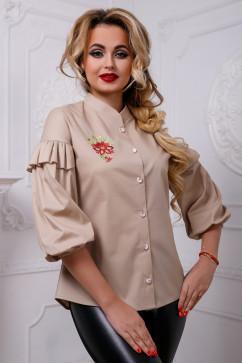 Блузка с рюшами на рукавах Seventeen 2584
