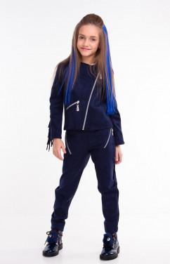 Курточка для девочки с бахромой Sofia Shelest Мерелин
