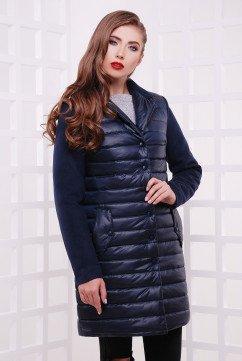 Куртка-пальто из плащевки TessDress 3504