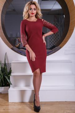 Платье с полуоткрытыми плечами Seventeen 2560