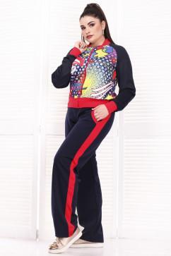 Большой женский спортивный костюм Alpama 13407