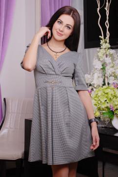 Платье Irena Richi Клетка